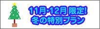 11月・12月限定プラン